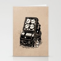 cats Stationery Cards featuring Cats by Ronan Lynam
