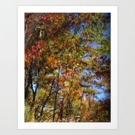 Abstract Reflection Art Print