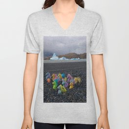 My Little Sea Ponies in Patagonia Unisex V-Neck
