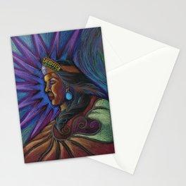 Cihtli - Higher self portrait Stationery Cards