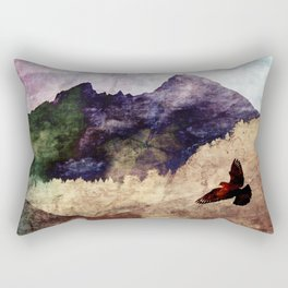 fly high Rectangular Pillow