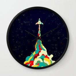 Into the Sky Wall Clock