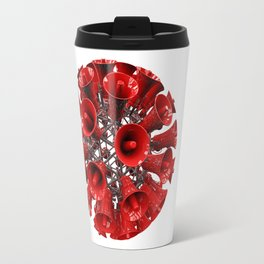 Ball of loud Travel Mug
