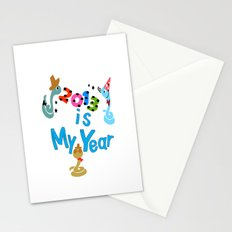 2013 is my Year Stationery Cards