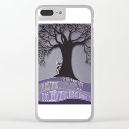 I'm Not Being Lazy. I'm Just Conservative With My Energy Clear iPhone Case