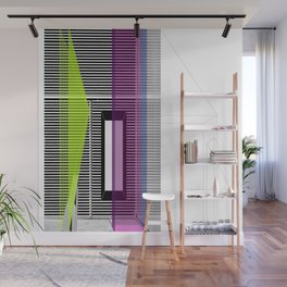 Architectural Stripes Wall Mural