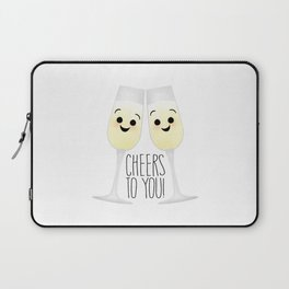 Cheers To You! Champagne Laptop Sleeve