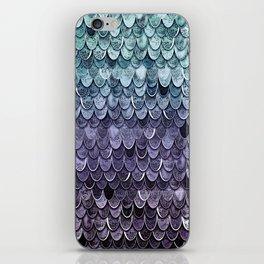 MAGIC MERMAID - MYSTIC TEAL-PURPLE iPhone Skin