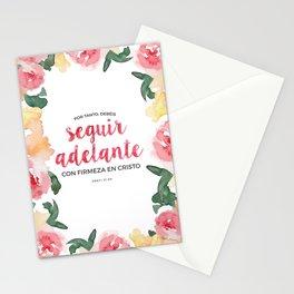 Seguir Adelante {Flores en Acuarela} Stationery Cards