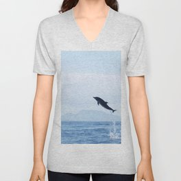 The sky is the limit Unisex V-Neck