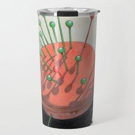 pincushion n. 2 (ORIGINAL SOLD). Travel Mug