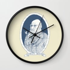 By Darwin's Beard Wall Clock
