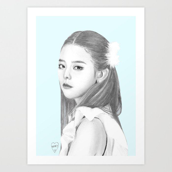 Seulgi Red Velvet Art Print By Thelamehuman Society6