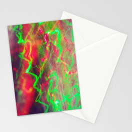 Liquid Light 3 - light painting experiment Stationery Cards