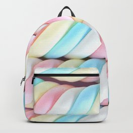 Sweet Pastel Candy Twists Backpack