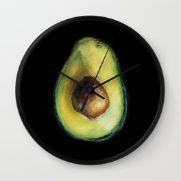 Brooke Figer - Avocado Wall Clock