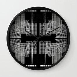 Grid II Wall Clock