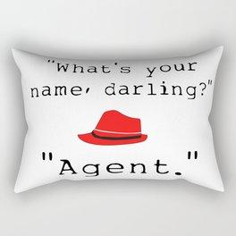 What's your name, darling? Rectangular Pillow