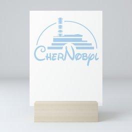 Chernobyl Black Humor Satire funny gift Mini Art Print