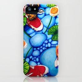 Koi Fish iPhone Case