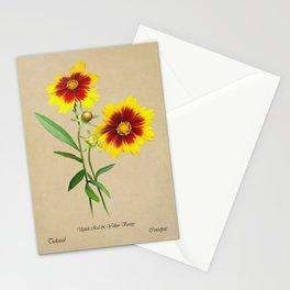 Tickseed Botanical Stationery Cards
