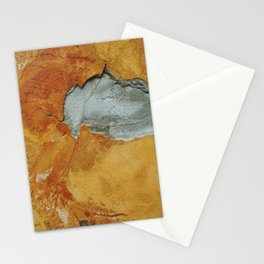 Tangerine wall Stationery Cards
