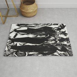 Ernst Ludwig Kirchner Five Women on the Street Rug