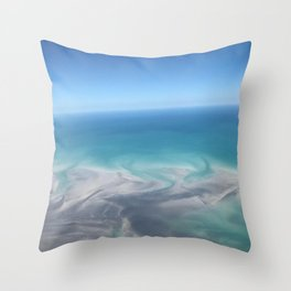 Kimberley skies Throw Pillow