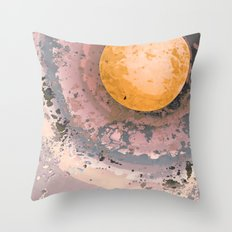 Dust 02 - Post Biological Universe Throw Pillow