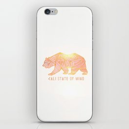 Cali state of mind iPhone Skin