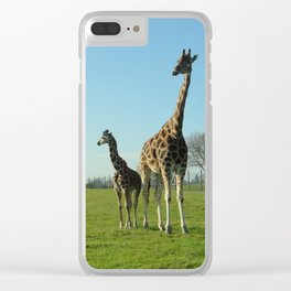 Is that your dad?? Clear iPhone Case