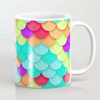 scales Mugs featuring Scales by Timothy M. LeBlanc