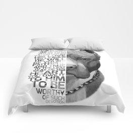 Pit Bull Print, Pit Bull Quote, Pit Bull Gift, Text Dog Portrait, Dog Art, Dog Quotes Print, Text Do Comforters