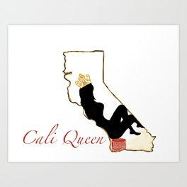 2019 Cali Queen Logo Art Print