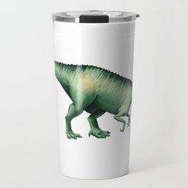 Realistic watercolor dinosaur Travel Mug