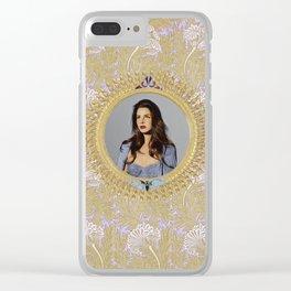 Art dèco Clear iPhone Case