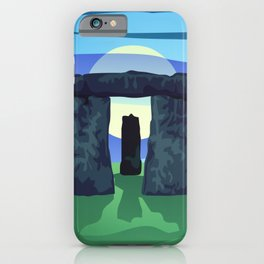 Circle of Standing Stones iPhone Case