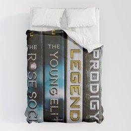 Marie Lu Book Spines Comforters