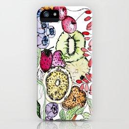 Fruit Harvest iPhone Case