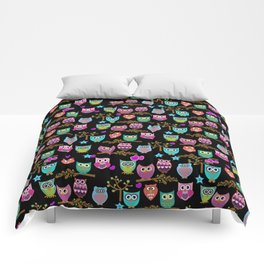 cute owls Comforters