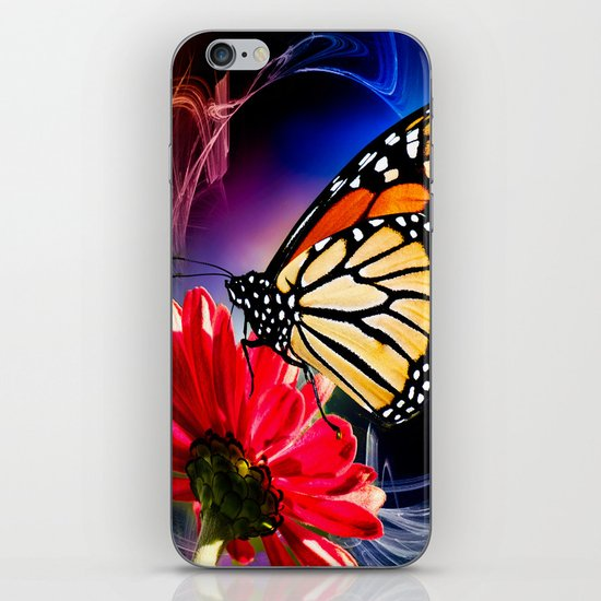 Butterfly Summer Dance  iPhone Skin