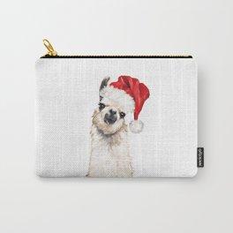 Christmas Llama Carry-All Pouch