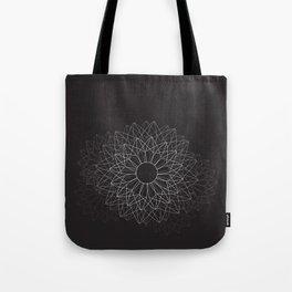 Spiral #abstract #dark Tote Bag