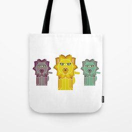 Lion With The Fiery mane Tote Bag