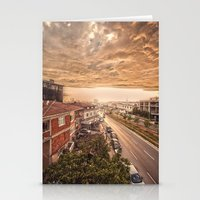 istanbul Stationery Cards featuring Istanbul by Obey24com