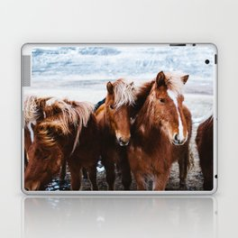 Red Horses Laptop & iPad Skin
