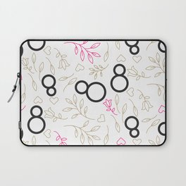 Womens day line style Laptop Sleeve