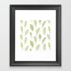 Fern Vases Framed Art Print