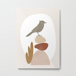 Cute Little Bird III Metal Print