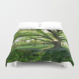 To Swing On The Tree Of Hope Duvet Cover